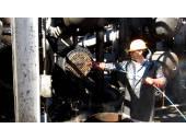 شستشوی مخازن لوله های انتقال مواد پالایشگاه مبدل