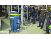 دستگاه مکنده صنعتی مکنده جارو جارو برقی نظافت محیط