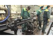 وکیوم لودر لجن کش صنعتی انتقال مواد جمع آوری مواد