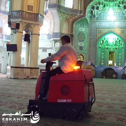 نظافت مساجد و اماکن مذهبی