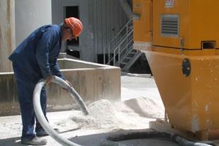 مکنده کامیونی ، وکیوم لودر ، مکنده کامیونی صنایع سیمان