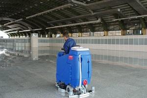 زمینشوی فرودگاه | شستشوی کف فرودگاه