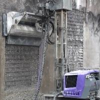 تخریب بتن با واترجت صنعتی , عملیات تخریب بتن
