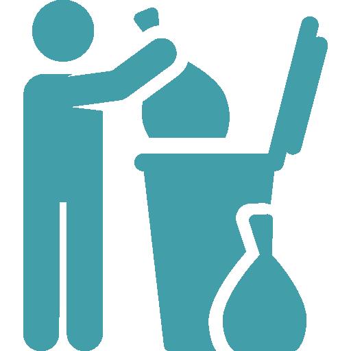 ترولی نظافتی ، تی شور نظافتی ، ترولی مراکز آموزشی