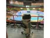 جاروبرقی صنعتی سالن ورزشی