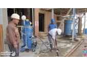 دستگاه جاروبرقی جمع آوری مواد پودری سیمان کارخانه