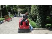 نظافت و بهداشت محیط محوطه پارک و اماکن تفریحی
