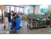 شستن سطوح کف کارخانه های خودروسازی شرکت ابراهیم