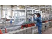شستن ریل شستشوی خطوط تولید کاشی و سرامیک با واترجت