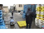 شستشوی تاسیسات و تجهیزات در صنایع غذایی  واترجت