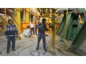 نظافت و بهداشت محیط در کارخانجات پتروشیمی واترجت