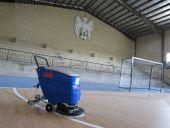 دستگاه نظافت صنعتی شرکت ابراهیم برای ورزشگاهها