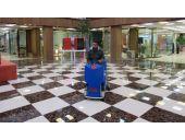 نظافت صنعتی مراکز خرید با ماشین سرنشیندار