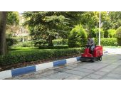 نظافت و بهداشت محیط پارک ها_جارو زدن پارک،فضای سبز