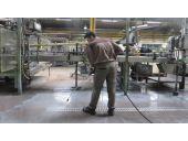 شستشوی خط تولید|خط نقاله|ریل تولید|ریل نقاله|شستن
