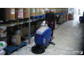 نظافت صنعتی کارخانه های خودروسازی با کفشوی_اسکرابر