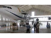 شستشوی هواپیما با واترجت_نظافت صنعتی هواپیمایی